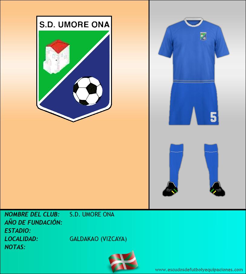 Escudo de S.D. UMORE ONA