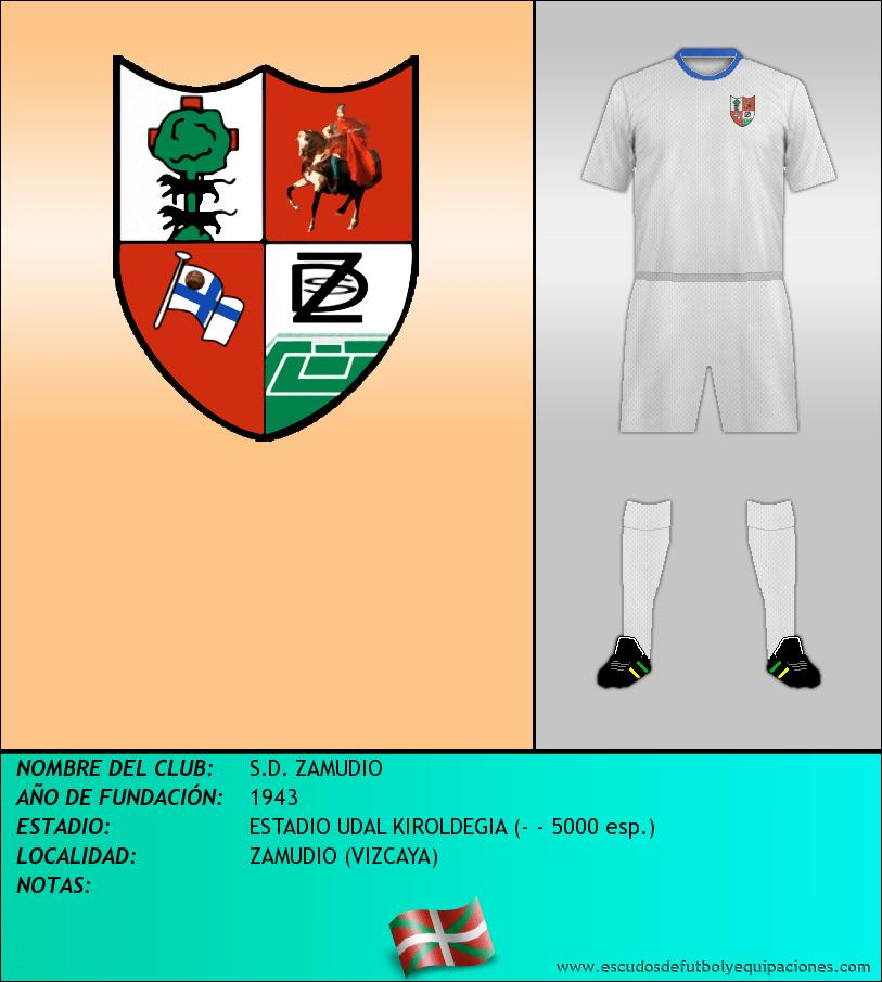 Escudo de S.D. ZAMUDIO
