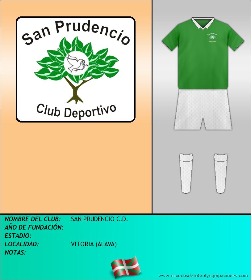 Escudo de SAN PRUDENCIO C.D.