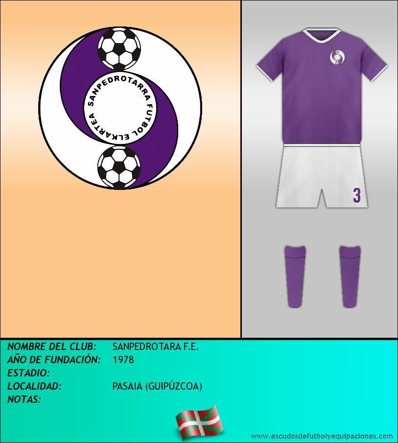 Escudo de SANPEDROTARA F.E.