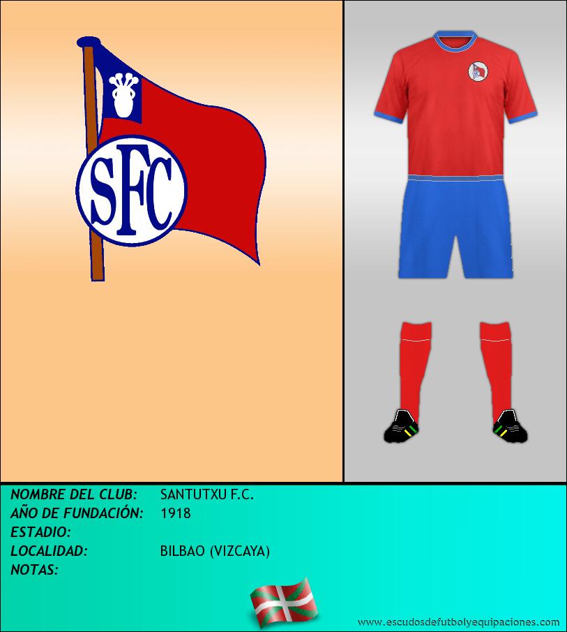 Escudo de SANTUTXU F.C.