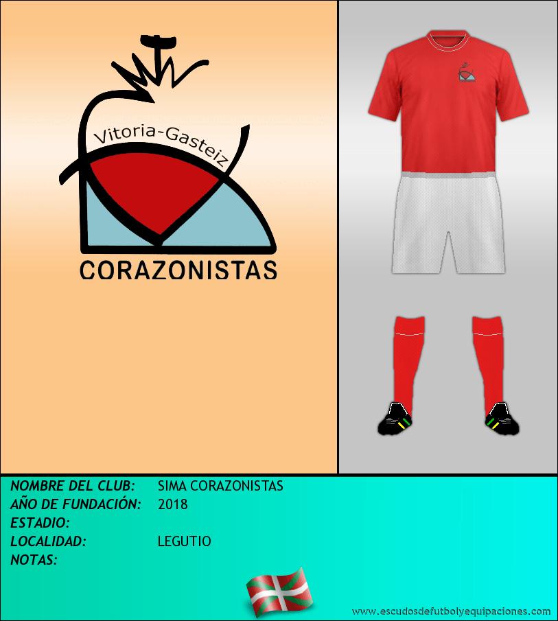 Escudo de SIMA CORAZONISTAS