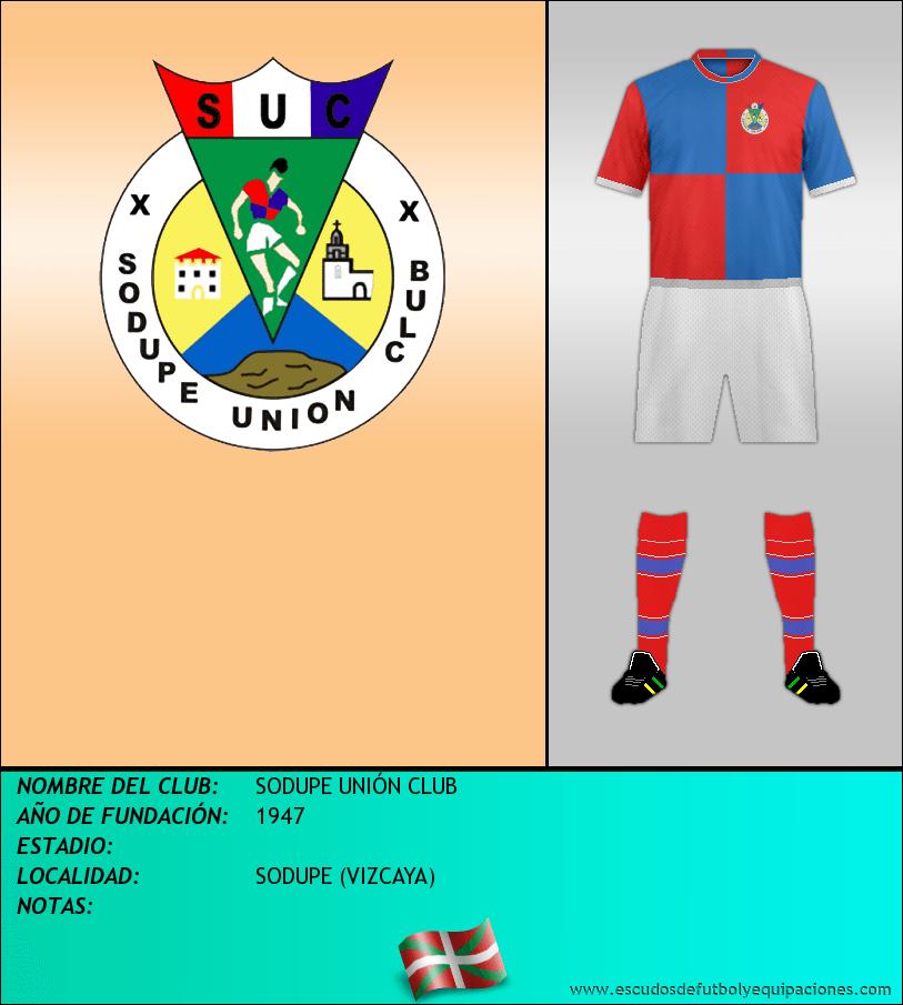 Escudo de SODUPE UNIÓN CLUB