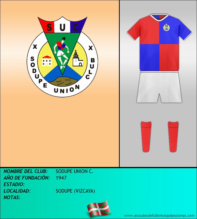 Escudo de SODUPE UNION C.