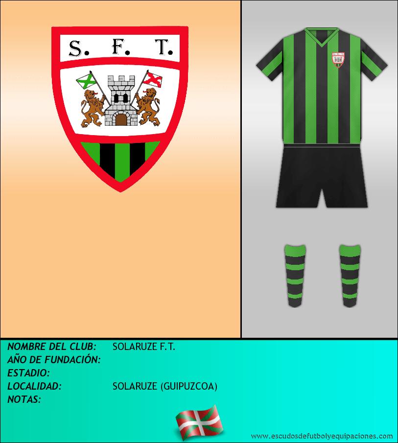 Escudo de SOLARUZE F.T.