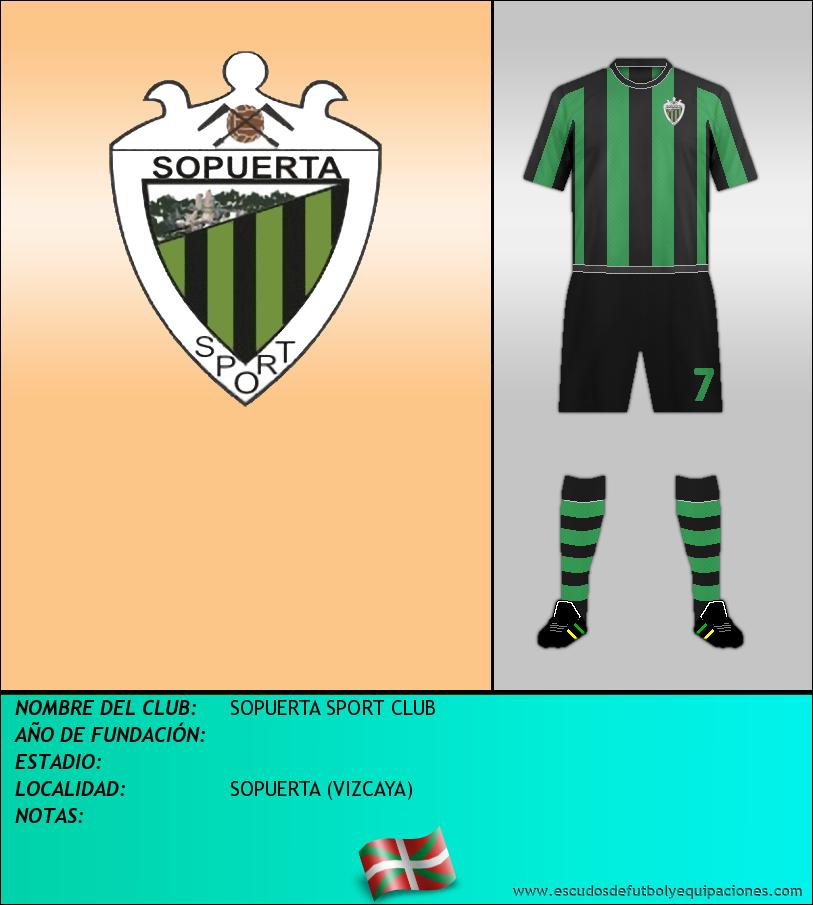 Escudo de SOPUERTA SPORT CLUB