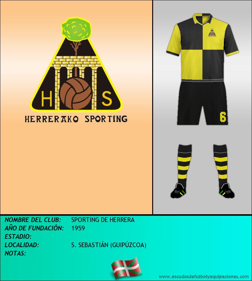 Escudo de SPORTING DE HERRERA