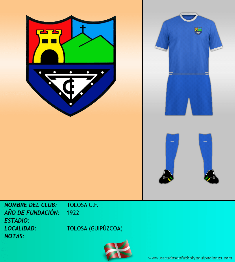 Escudo de TOLOSA C.F.