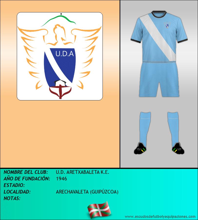 Escudo de U.D. ARETXABALETA K.E.