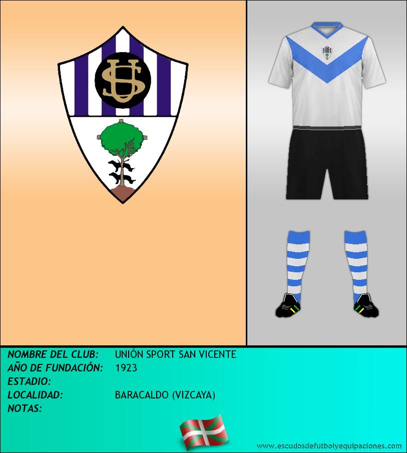 Escudo de UNIÓN SPORT SAN VICENTE