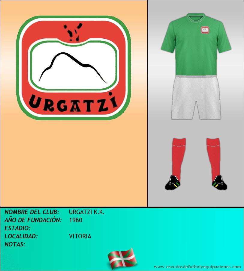 Escudo de URGATZI K.K.