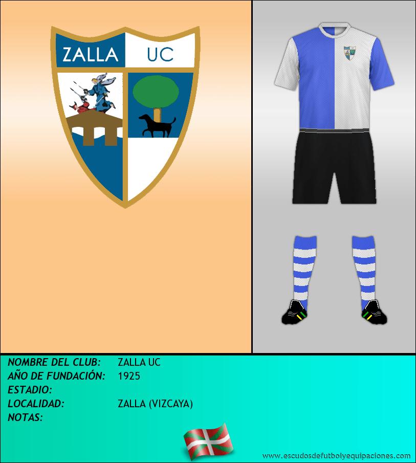 Escudo de ZALLA UC