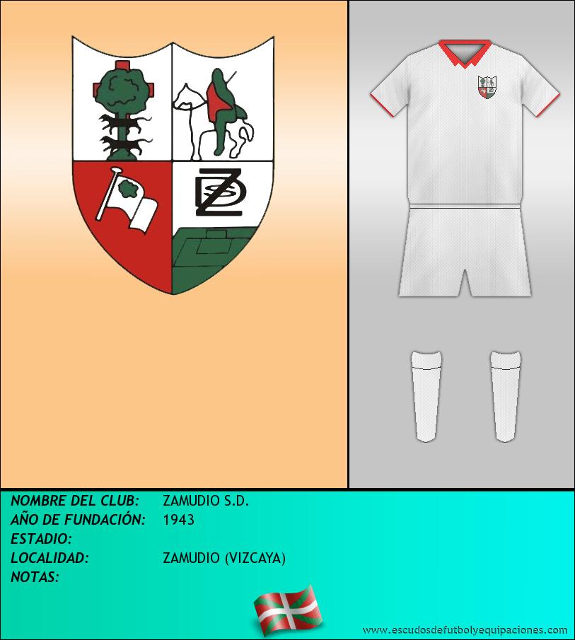 Escudo de ZAMUDIO S.D.