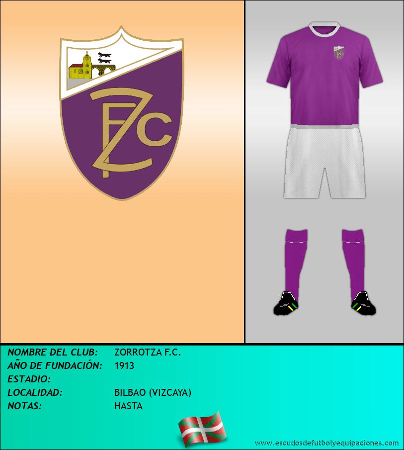 Escudo de ZORROTZA F.C.