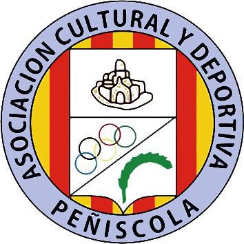 Escudo de A.C.D. PEÑÍSCOLA (VALENCIA)