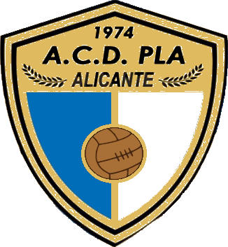 Escudo de A.C.D. PLA (VALENCIA)