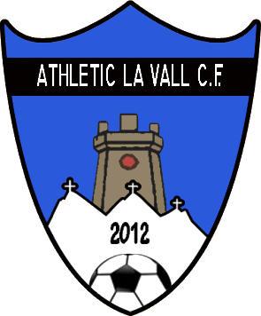Escudo de ATHLETIC LA VALL C.F. (VALENCIA)