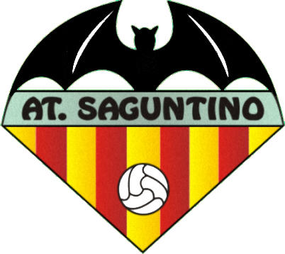Escudo de ATLÉTICO SAGUNTINO (VALENCIA)