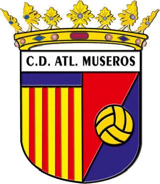 Escudo de C.D. ATL. MUSEROS (VALENCIA)