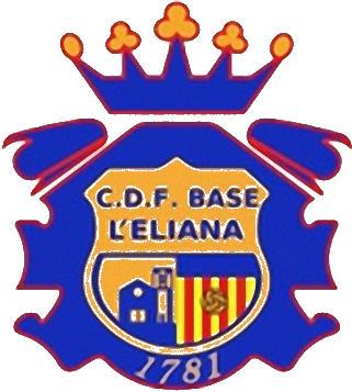 Escudo de C.D. F. BASE L'ELIANA (VALENCIA)
