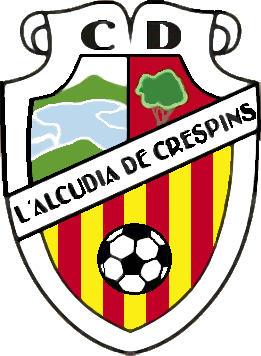 Escudo de C.D. L'ALCUDIA DE CRESPINS (VALENCIA)