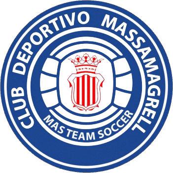 Escudo de C.D. MASSAMAGRELL (VALENCIA)