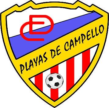 Escudo de C.D. PLAYAS DE CAMPELLO (VALENCIA)