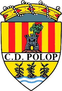 Escudo de C.D. POLOP (VALENCIA)