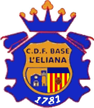 Escudo de C.D.F. BASE L'ELIANA (VALENCIA)