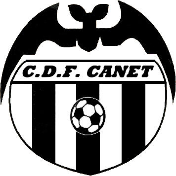 Escudo de C.D.F. CANET (VALENCIA)