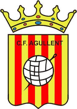 Escudo de C.F. AGULLENT (VALENCIA)