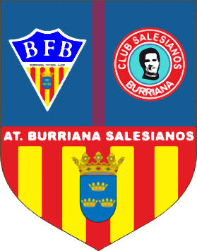 Escudo de C.F. AT. BURRIANA SALESIANOS (VALENCIA)