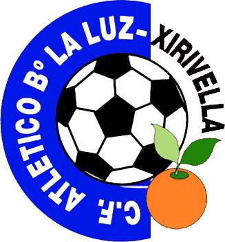 Escudo de C.F. ATLÉTICO Bº LA LUZ (VALENCIA)
