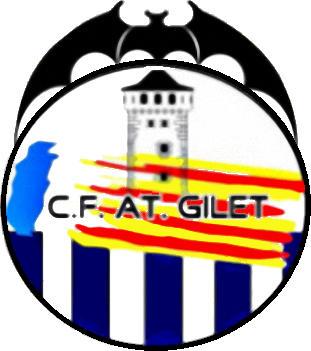 Escudo de C.F. ATLÉTICO GILET (VALENCIA)