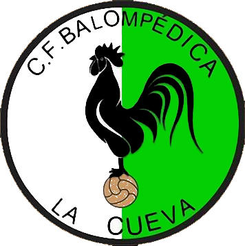 Escudo de C.F. BALOMPÉDICA LA CUEVA (VALENCIA)