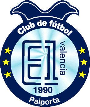 Escudo de C.F. E-1 VALENCIA (VALENCIA)