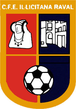 Escudo de C.F. ESPORTIVA ILICITANA RAVAL (VALENCIA)