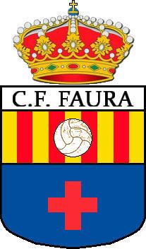 Escudo de C.F. FAURA (VALENCIA)
