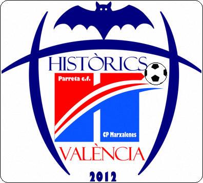 Escudo de C.F. HISTÒRICS DE VALENCIA (VALENCIA)
