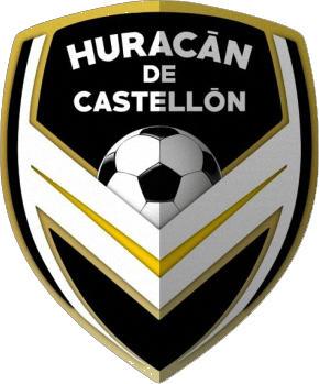 Escudo de C.F. HURACÁN DE CASTELLÓN (VALENCIA)