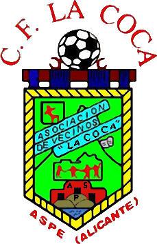 Escudo de C.F. LA COCA DE ASPE (VALENCIA)