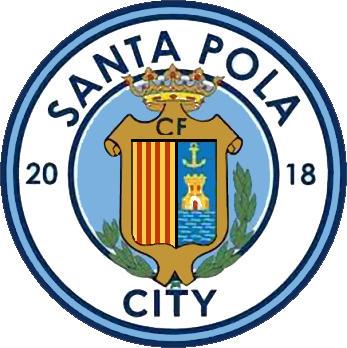 Escudo de C.F. PLAYA SANTA POLA CITY (VALENCIA)
