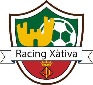 Escudo de C.F. RACING XÀTIVA (VALENCIA)