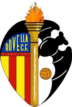 Escudo de C.F. ROVELLA (VALENCIA)