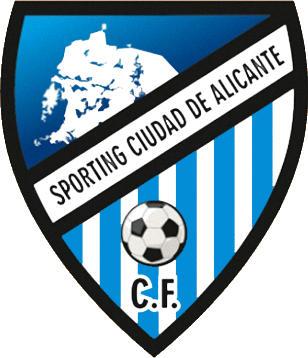 Escudo de C.F. SPORTING CIUDAD DE ALICANTE (VALENCIA)