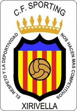 Escudo de C.F. SPORTING XIRIVELLA (VALENCIA)