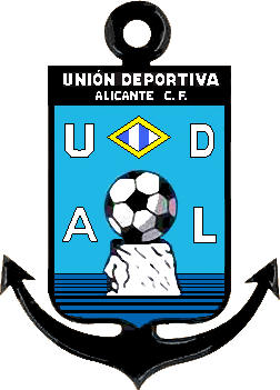 Escudo de C.F. U.D. DE ALICANTE (VALENCIA)