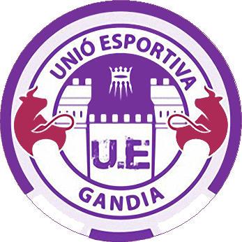 Escudo de C.F. U.E. GANDIA (2) (VALENCIA)