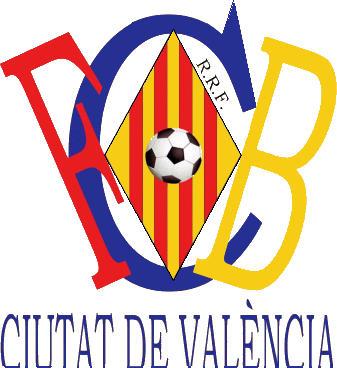 Escudo de C.F.B. CIUTAT DE VALENCIA (VALENCIA)