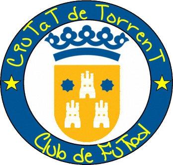 Escudo de C.F.F. CIUTAT DE TORRENT (VALENCIA)